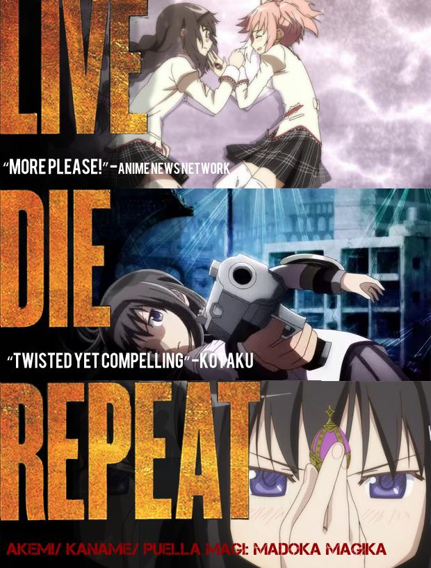 live die repeat madoka magica copy